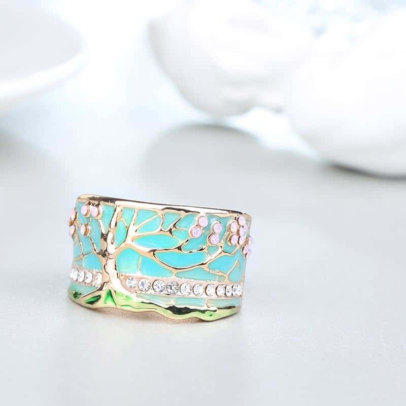 Lucky Tree Opal Ring