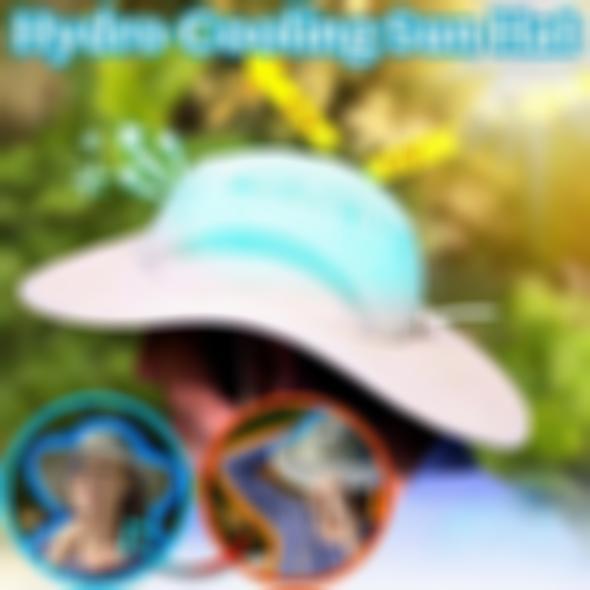 AHOME7 Hydro Cooling Sun Hat