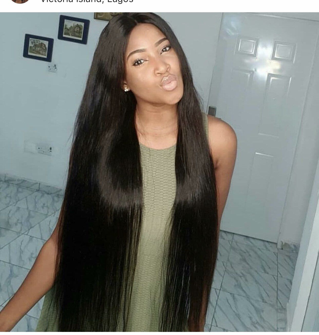 Lace Front Wigs Black Hair 100 human wigs for african american In Loverlywigs.com