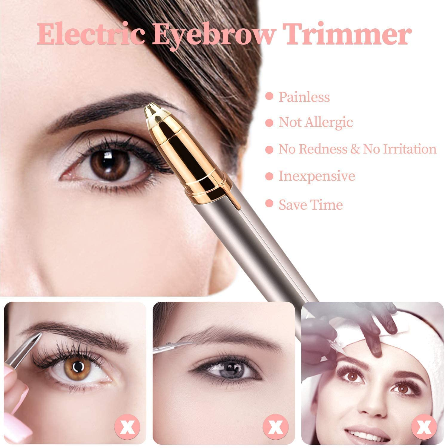 [50% OFF] Portable eyebrow trimmer