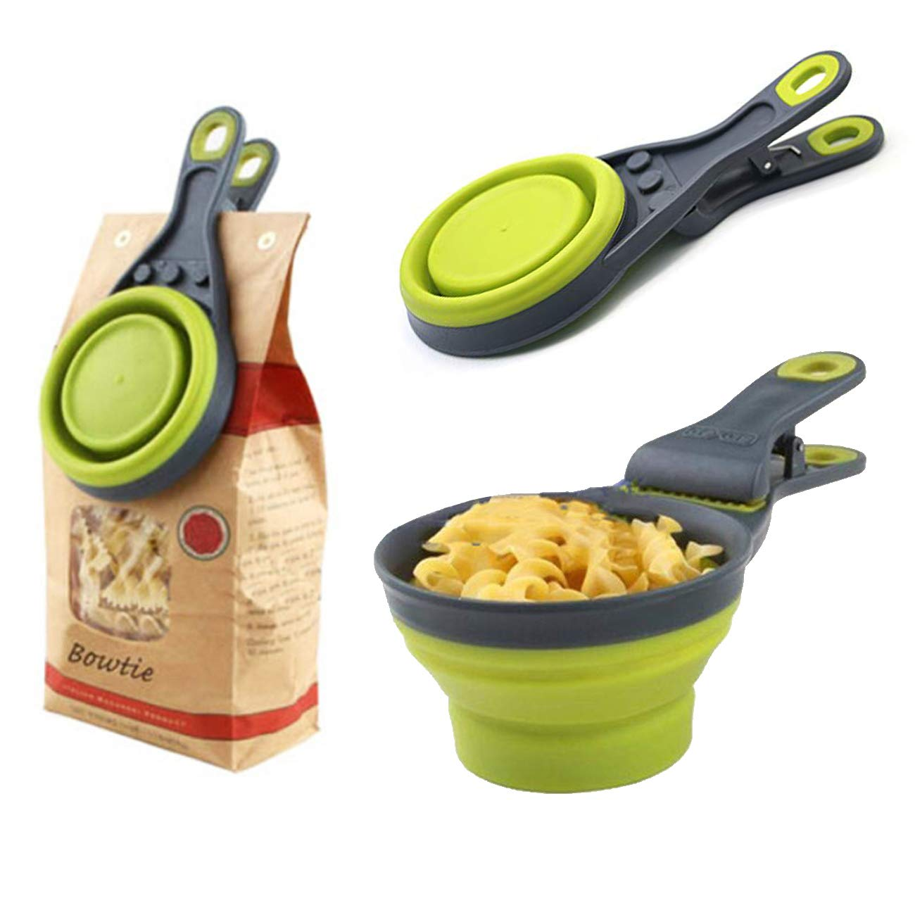 (NEW YEAR PROMOTION — Save 60%OFF)NEW 2020 Collapsible Measuring Cup with Sealing Clip