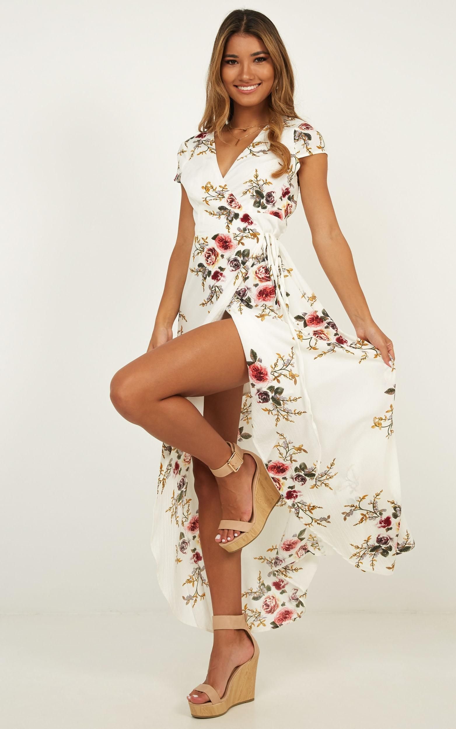2020 Women Dress Casual Dress Print Plus Size Clothing Websites Business Casual And Jeans