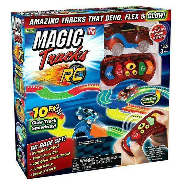 Remote Control Race Cars Magic Tracks RC