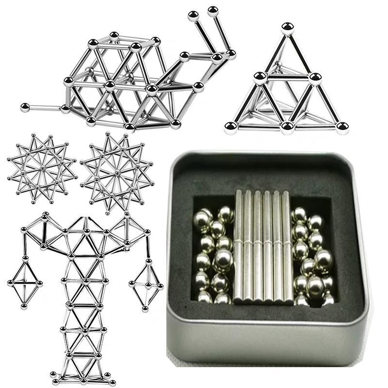 New Year Sale is on!  DIY Magnetic Sticks And Balls-40% OFF TODAY !!