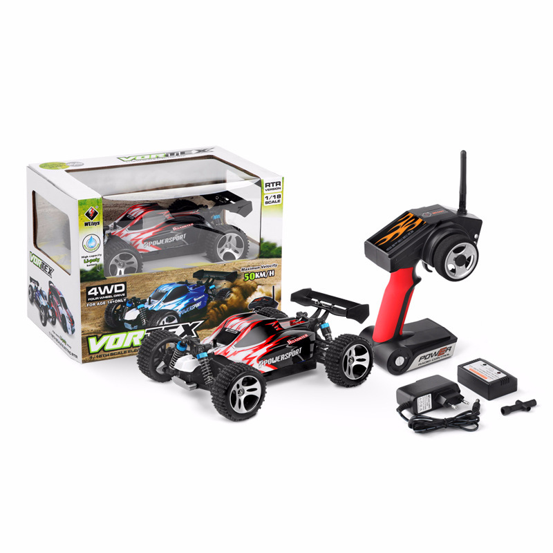 Original Wltoys A959 2.4G 1/18 4WD 45km/h RC Racing Car