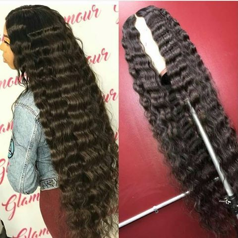 Lace Front Wigs Black Curly Hair Loose Deep Wave Human Hair Natural Afro Wigs For Black Hair Royal Blue Wig