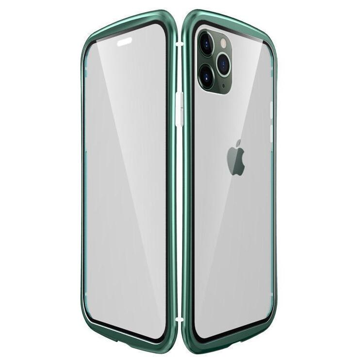 2020 Upgraded Two Side Tempered Glass Magnetic Adsorption Phone Case for iPhone 11 11Pro 11Pro Max~~nice