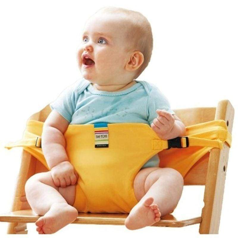 Toddler Baby Dining Lunch Portable Feeding Chair Harness Safety Belt Seat Baby Accessories