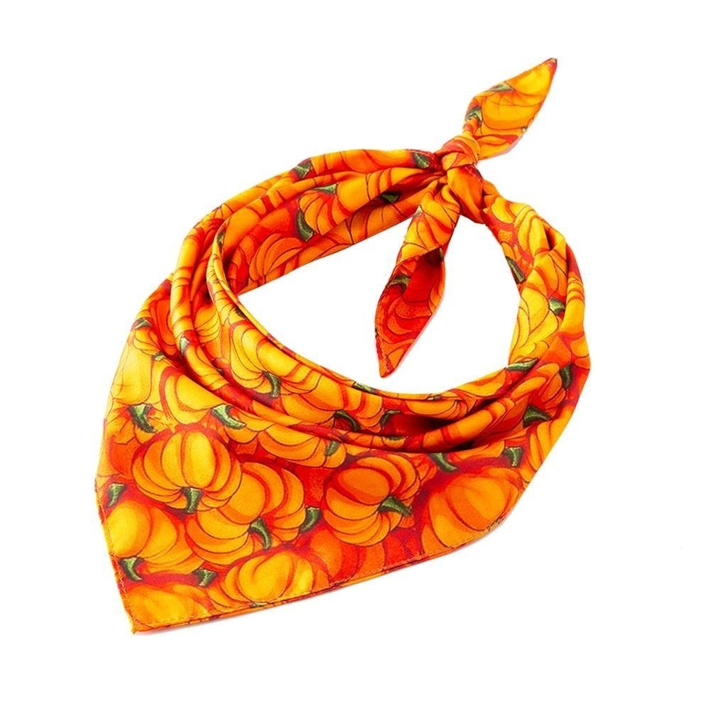 Pet Dogs Halloween Saliva Neckerchief Towel Triangular Scarf Accessory