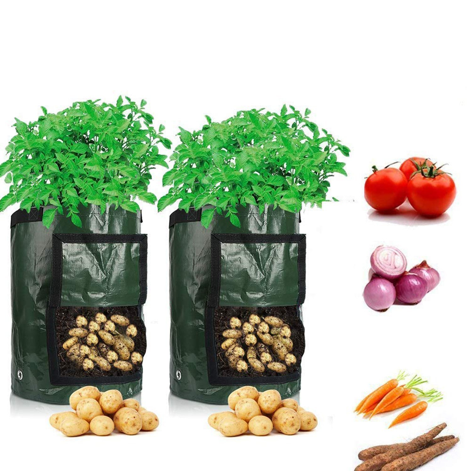 Potato Planting Container Bag Vegetable Gardening Tool