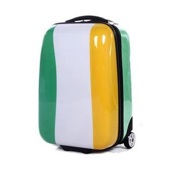 Small suitcase cute vintage travel suitcase girl luggage roller bag-1.9