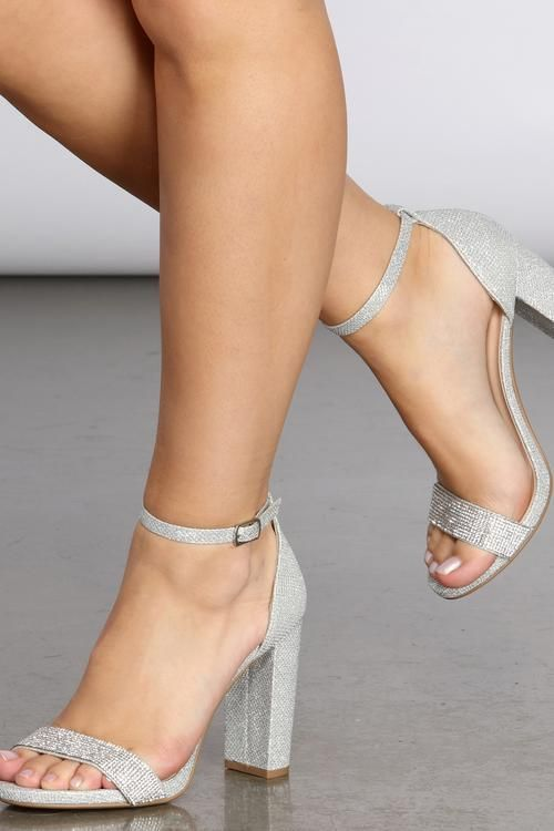 Trendy High Heel Shoes Jellies Shoes Transparent Heel Shoes