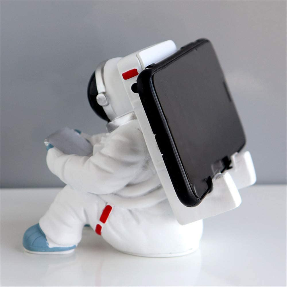 Creative Astronaut Cell Phone Stand Tablets Phone Holder Adjustable Phone Supporter for iPhone