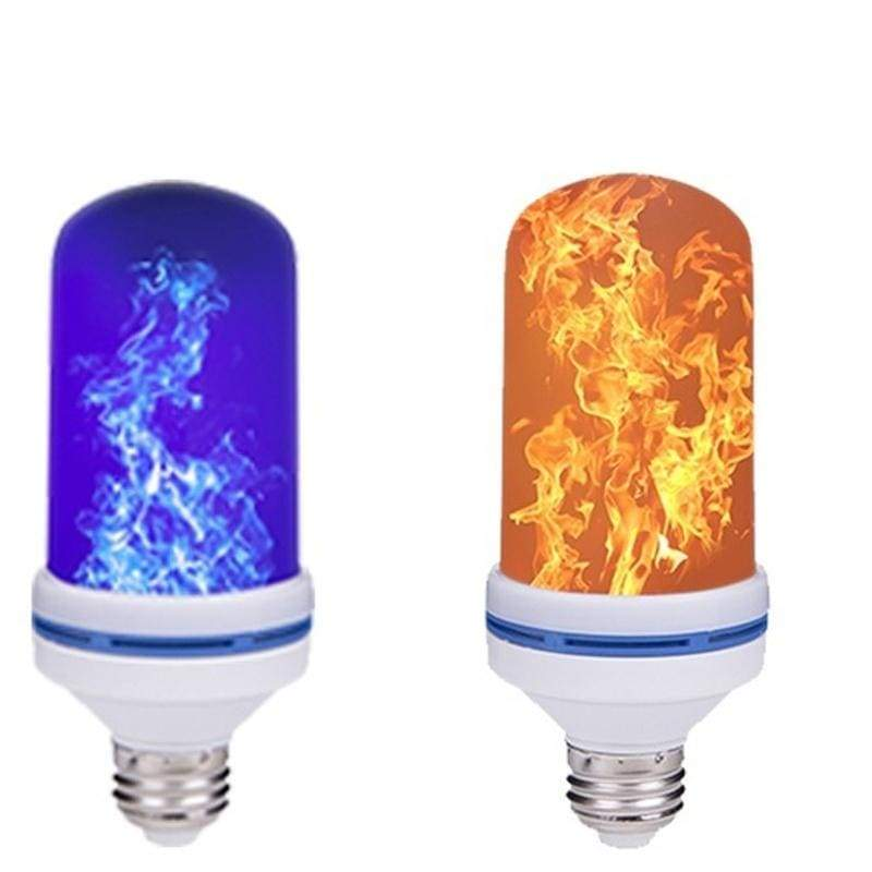 1Pcs/2Pcs LED Flame Effect Lighting 4 Modes Gravity Sensor Super Bright Flickering Fire Effect Light Bulb Creative Lights Christmas Lights Party Decoration