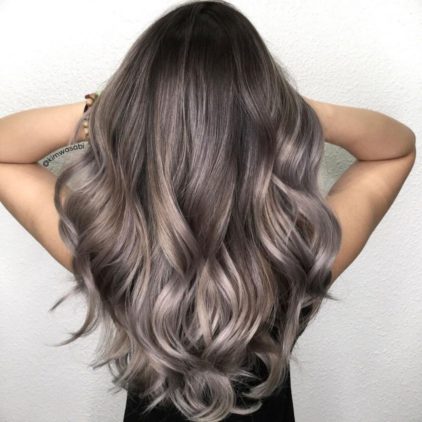 2020 Best Lace Front Wigs Grey Hair At 22 Steel Grey Hair Grey And Purple Wig Platinum Color Wigs