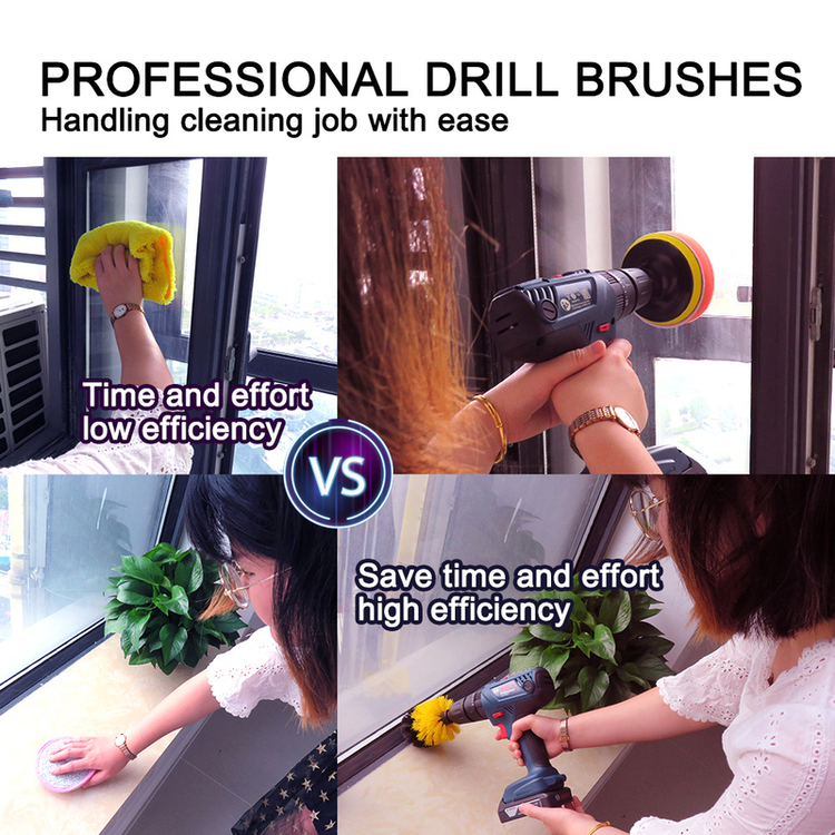 Multi-function Electric Drill Cleaning Brush Kit📣50% OFF