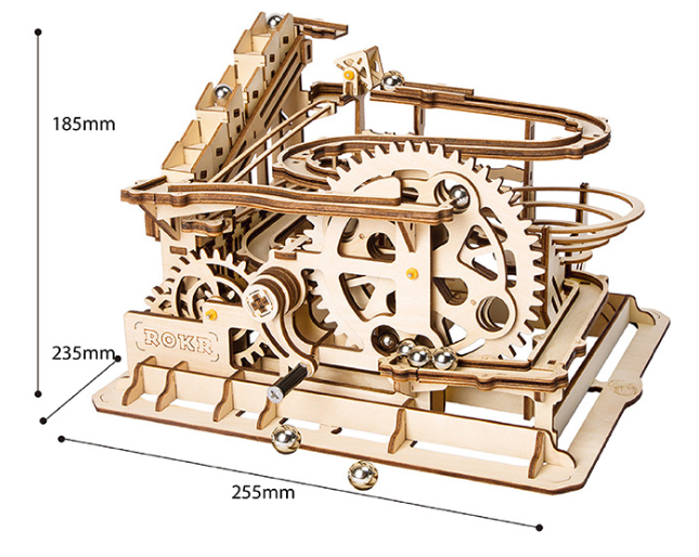 3D wood puzzle-Free shipping
