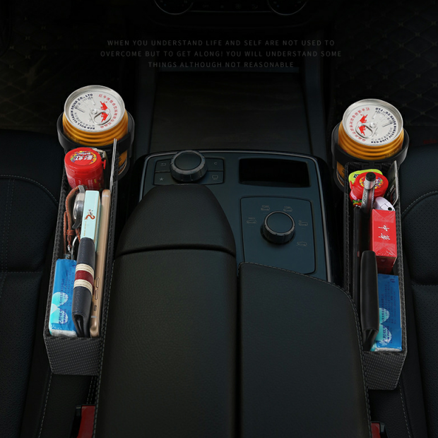 (Last Day Promotion 50% OFF)Multifunctional Car Seat Organizer-Suitable for all cars
