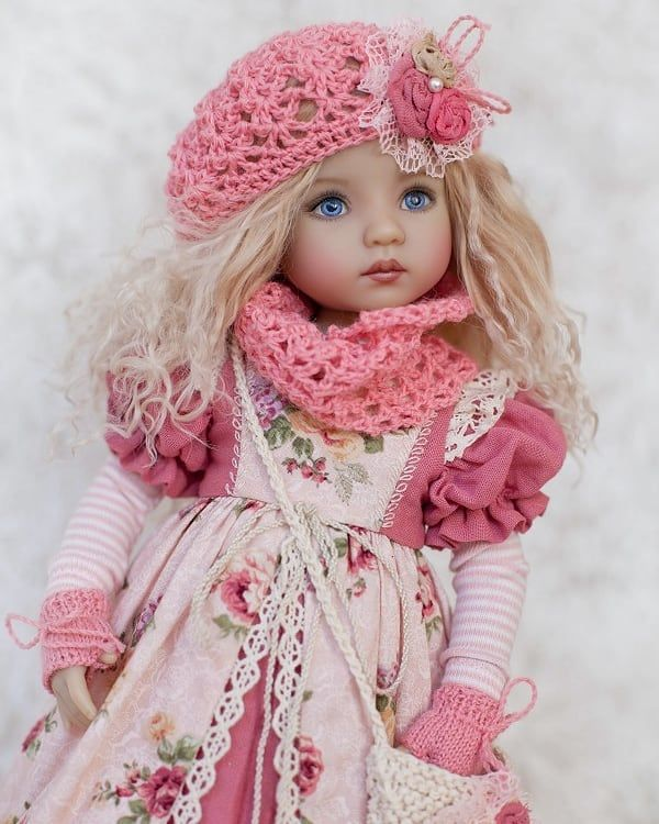 👧👧Little Darling Dianna Effner Doll with dress💝Lolita Style#12