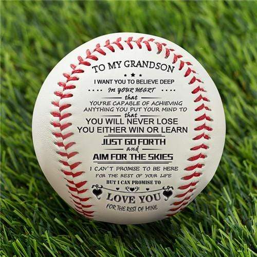 To My GrandSon - Baseball - You Will Never Lose