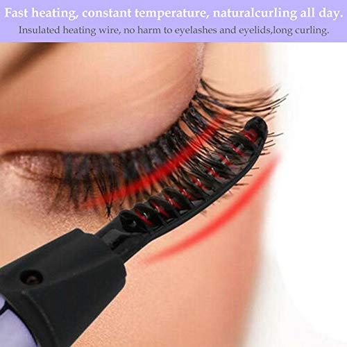 Heated Eyelash Curler-Portable&Easy To Use
