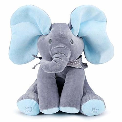 🔥49%OFF🔥I 'm a PeekaToy elephant plush toy 🐘 I can be cute and sing🎤