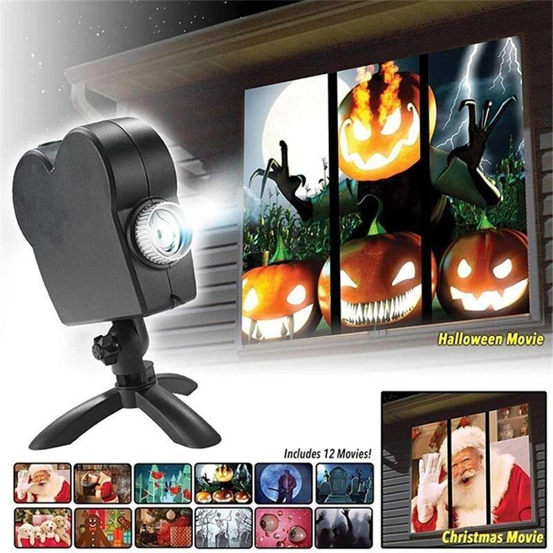 🎃HOT SALE - 50% OFF🎃 -  Halloween Holographic Projection!