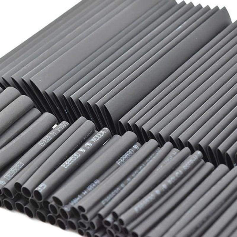 127 Pcs Various Lengths Assortment Set Heat Shrink Wire Wrap Tubing Electrical Connection Cable