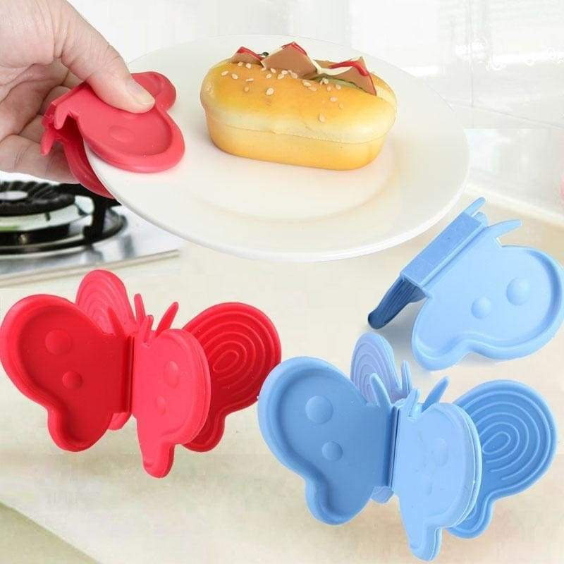 Butterfly insulation plate clamp butterfly shaped kitchen tool