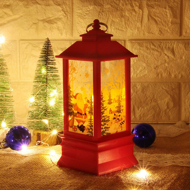 🎅HOT-SALE Electric snowing music street lamp Christmas decorations