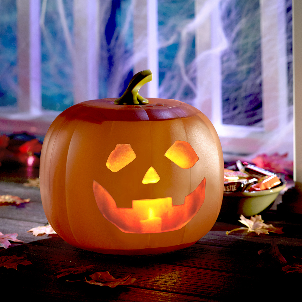🔥HOT SALE! Halloween Talking Animated Pumpkin with Built-In Projector & Speaker