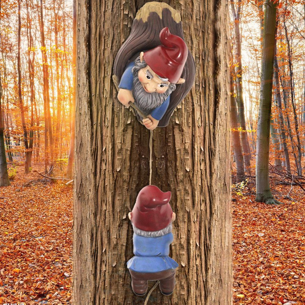 【BUY 2 FREE SHIPPING】Two Fairy Elves Climbing Tree