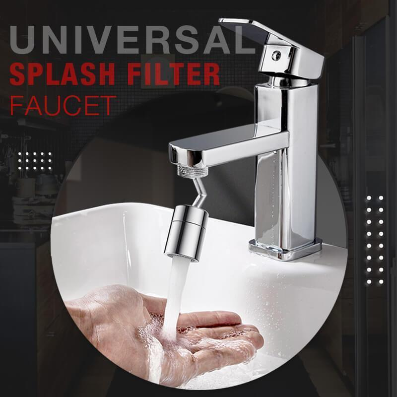 (Buy 2 for 25% OFF!)720 Degrees Universal Splash Filter Faucet Spray Head