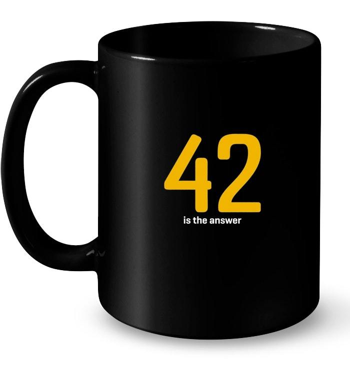 Funny 42 Is the Answer Gift Coffee Mug