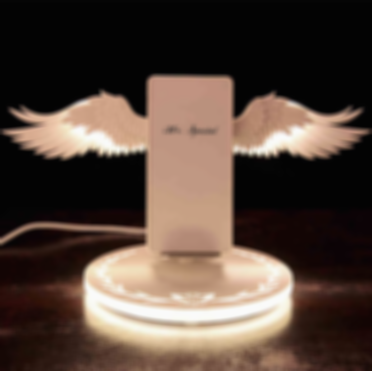 🔥【50% OFF FOR BLACK FRIDAY】Angel Wing Wireless Fast Charger