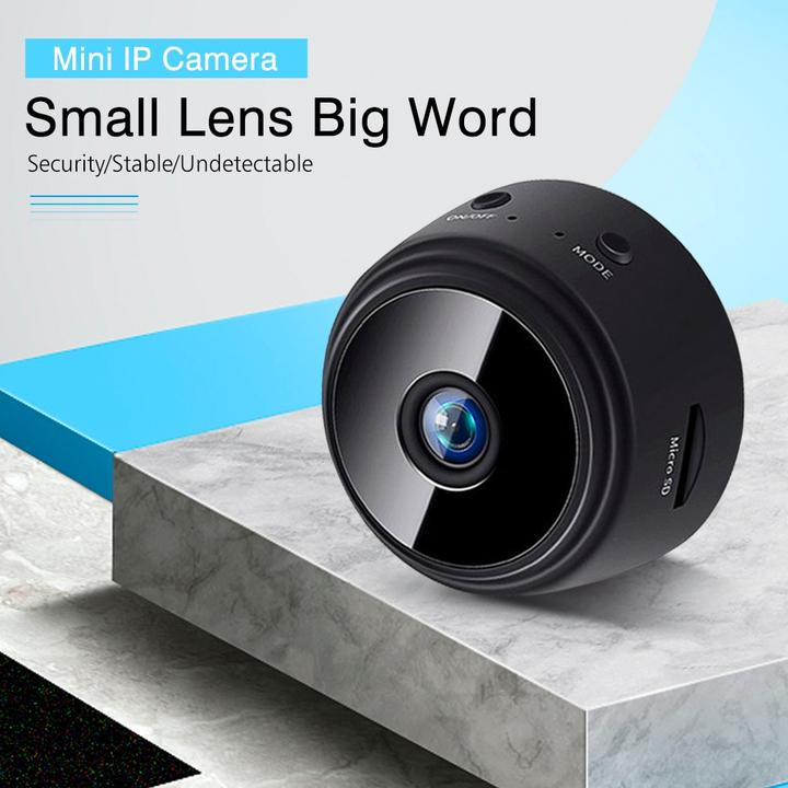 WIRELESS WIFI CAMERA WITH NIGHT VISION(50% OFF)