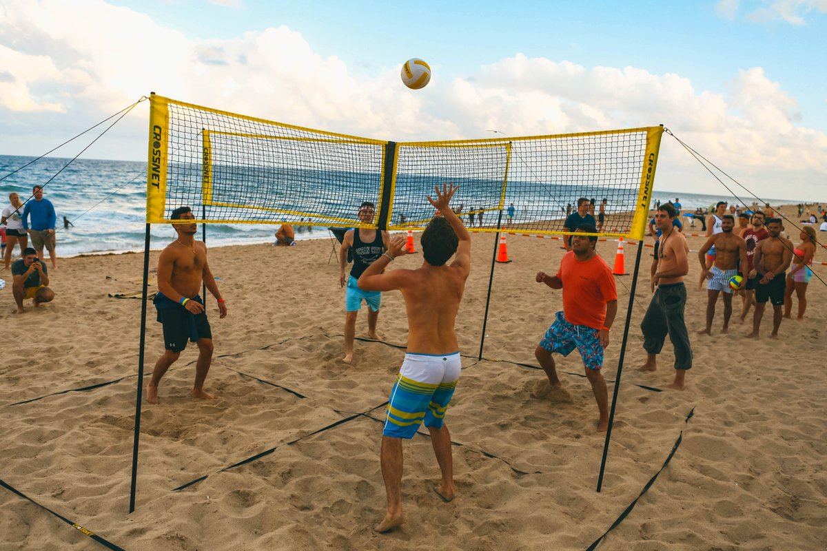 Father's Day Hot Sale🔥🔥(Last Day Promotion&60% OFF) 4×4 Cross volleyball net