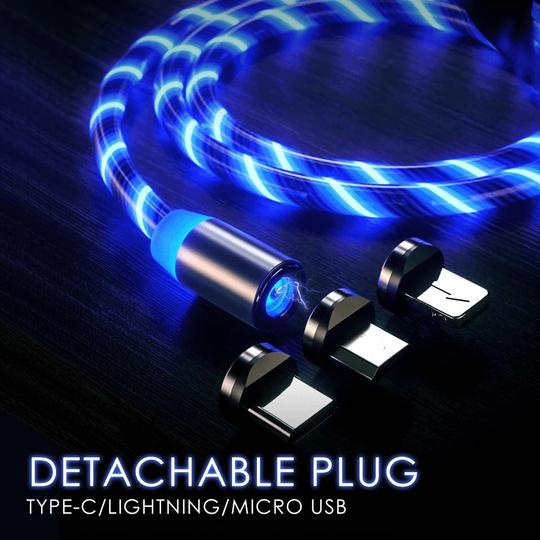 (🎄Christmas Big Sale🎄-48% OFF)Streamer Magnetic Absorption Cable with 3 Types Head(Buy 3 get 1 free+free shipping)