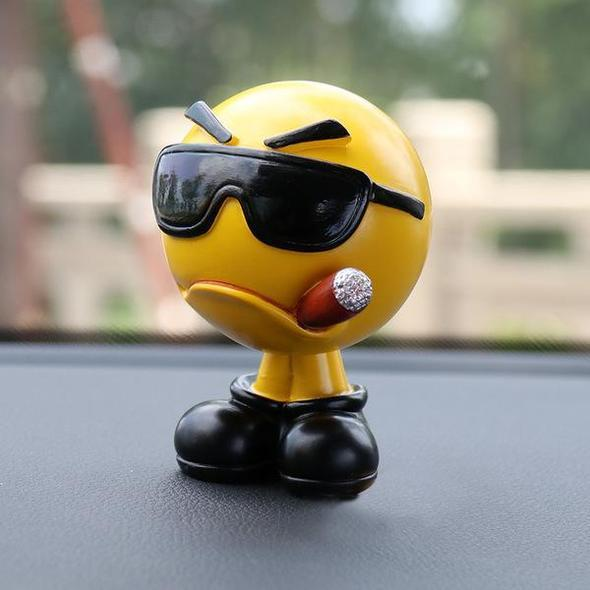 ONLY $6.99-Super cute car emoji decoration(Factory Outlet)