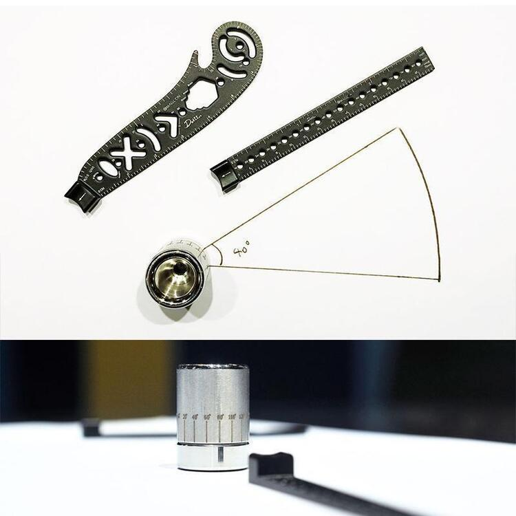 Buy 2 Free Shipping & Save $6 - Multifunctional Magnetic Drawing Ruler