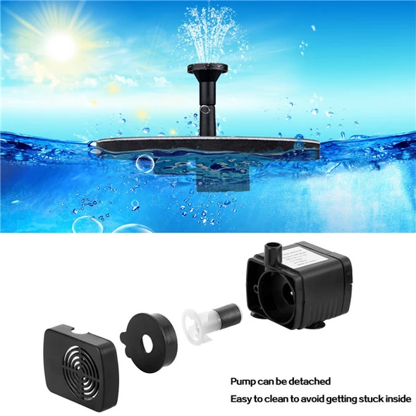 [Year-End Promotion - 50% Off🔥] Solar Powered Fountain Pump - Shipping From America