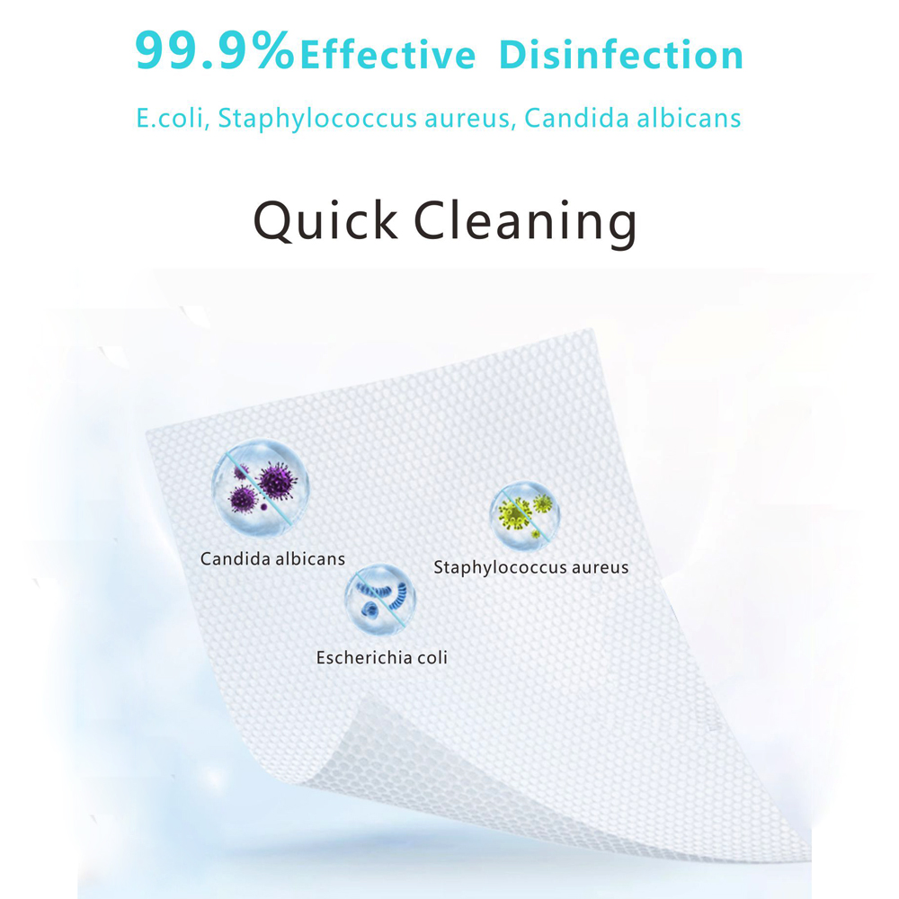 75% Alcohol Hand Sanitizing Wipes Antiseptic Disinfection Wipes Sterilization Wipes 80PCS/Pack Portable Package