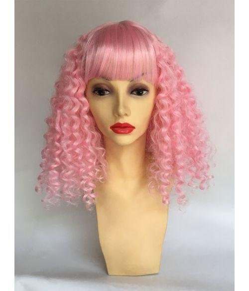 Lace Frontal Wigs Pink Blonde Pink And Purple Hair For Girl