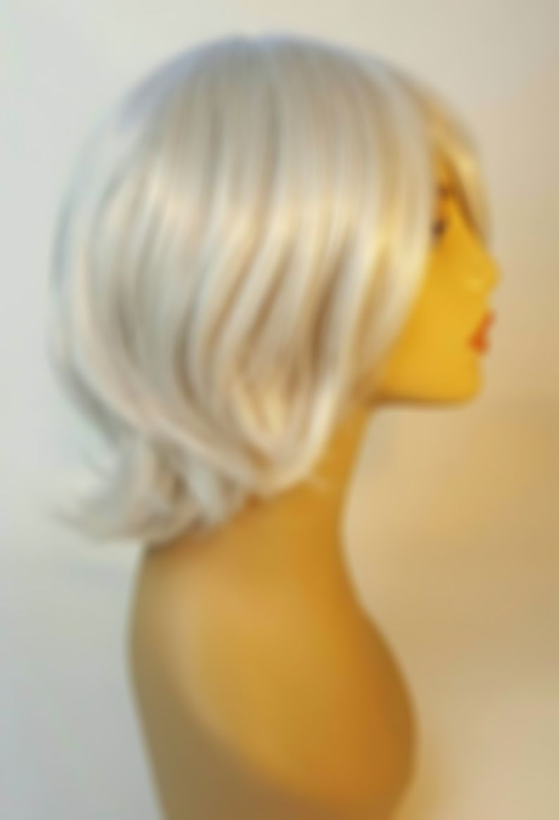 Lace Front Wigs Platinum Blonde Wig Zac Efron Hair 1920S Blonde Wig
