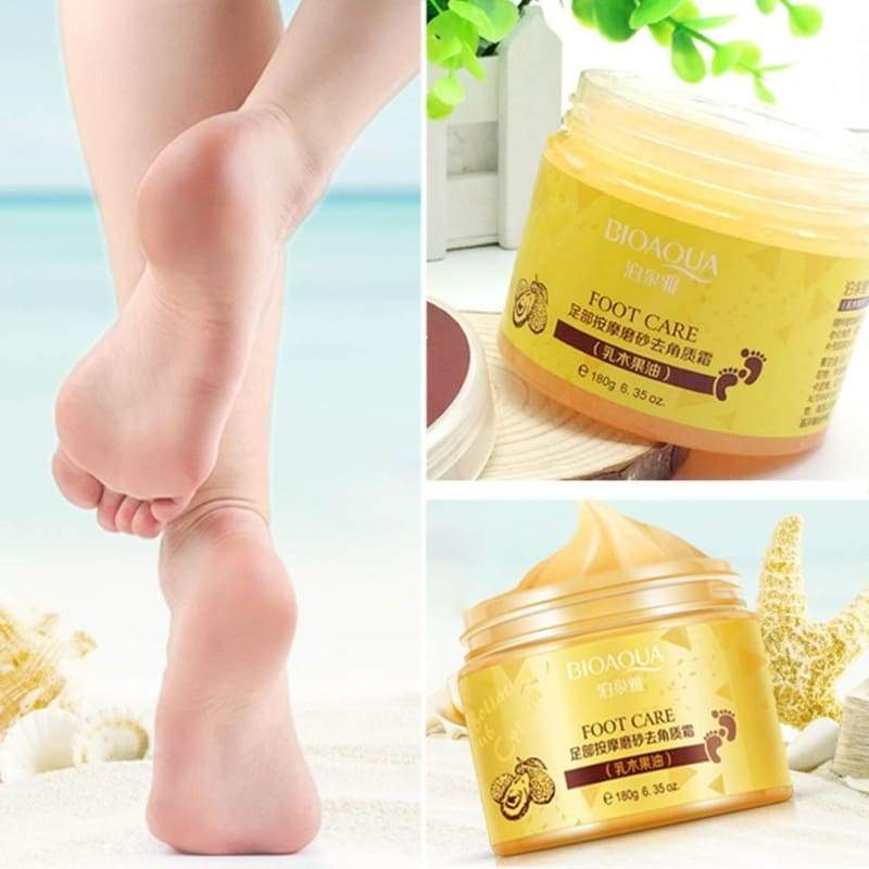 BIOAQUA Exfoliating Feet Mask Peel Dead Skin Callus Remover Foot Care Cream 180g