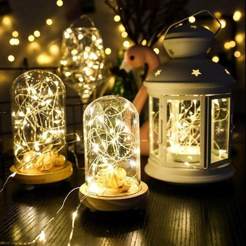 AHOME7 - Bendable Waterproof LED Starry String Lights for Patio/Garden/Party