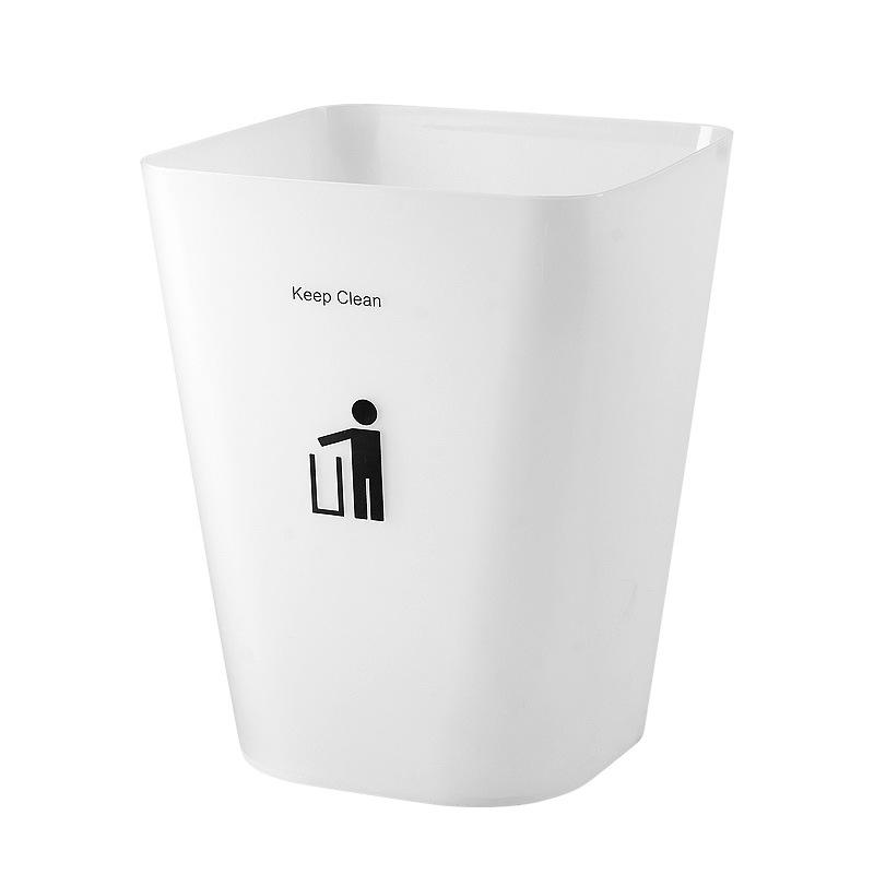 Promotional Durable Open Top Small Trash Waste Bin Plastic Dustbin trash can-1.20