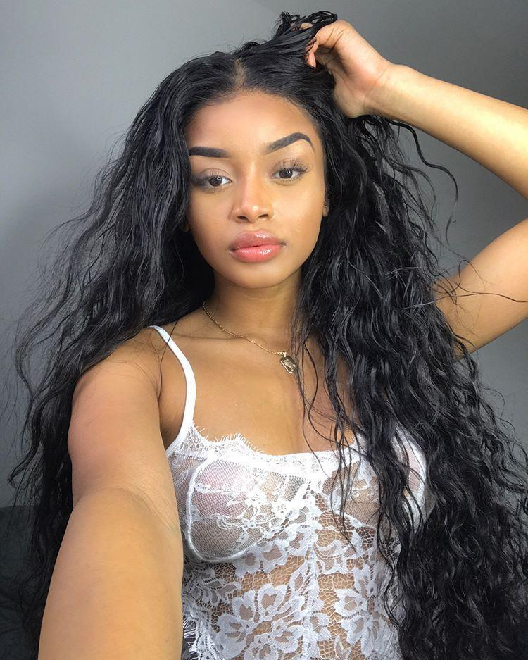 Human Hair Swiss Lace Wigs Human Hair Lace Front Wigs With Bangs