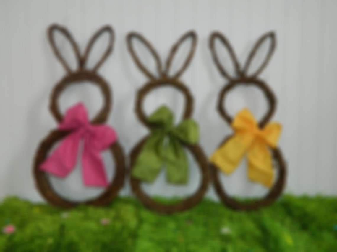 🔥 Easter Pre-Sale🔥50% OFF 🔥Easter Wreath - Bunny Wreath - Spring Wreath - Easter Decoration - Quick Ship