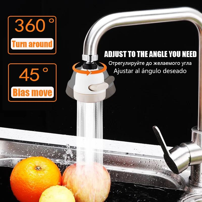 (Early Mother's Day Hot Sale-48% OFF)Super Water Saving 360° Rotate Kitchen Tap(BUY 2 GET 1 FREE NOW)